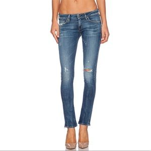 Citizens of Humanity Low Rise Racer Skinny Jeans